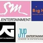 SM-Big-Hit-YG-JYP