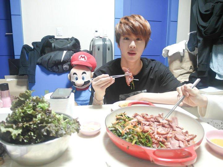 bts jin cuisine
