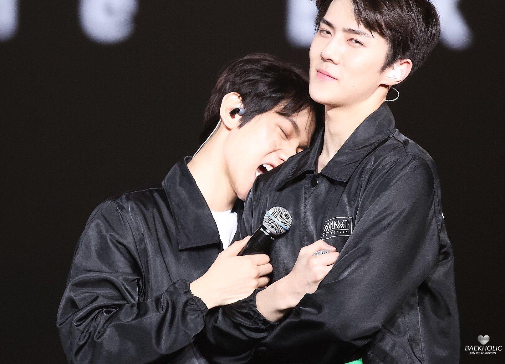 saehun and baekhyun