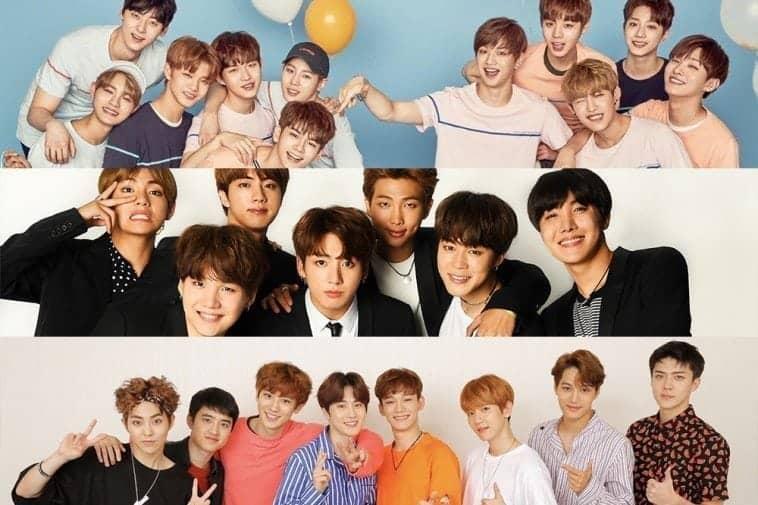 EXO-bts-wanna-one