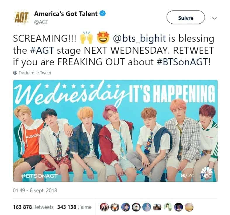 BTS america