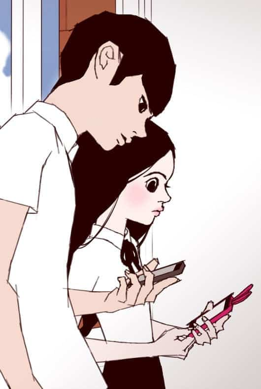 """Love Alarm"""" webtoon"""