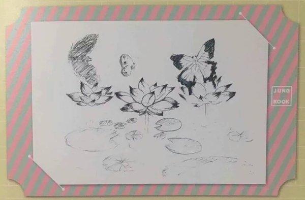 jungkook dessin
