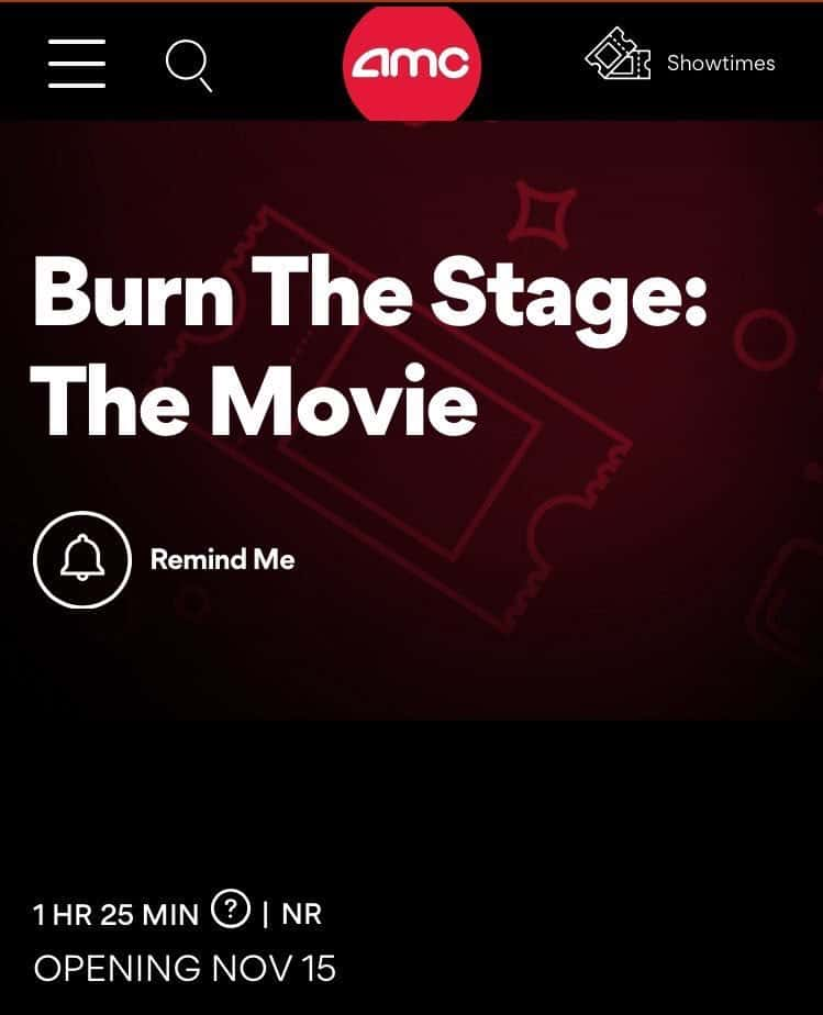 bts burn the stage the movie