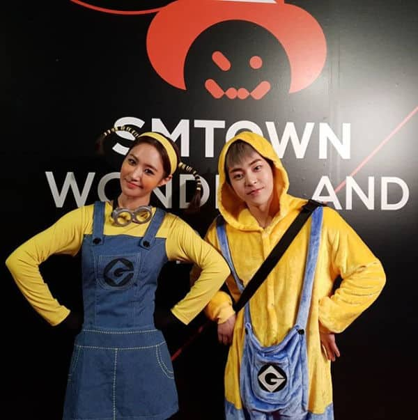 SM Entertainment Halloween