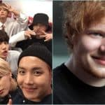 Ed Sheeran BTS Collaboration