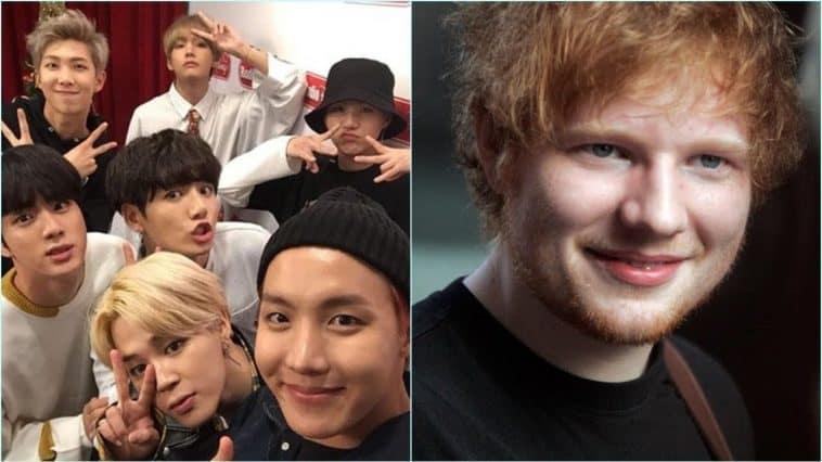 Ed Sheeran BTS Collaboration