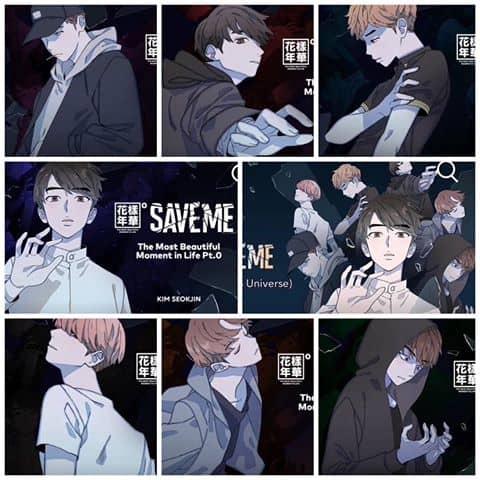 save me webtoon bts