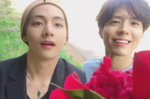 Park Bo Gum V collaboration