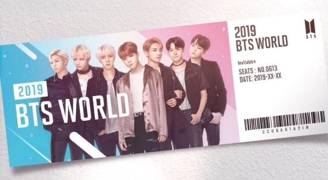 bts world ost concours
