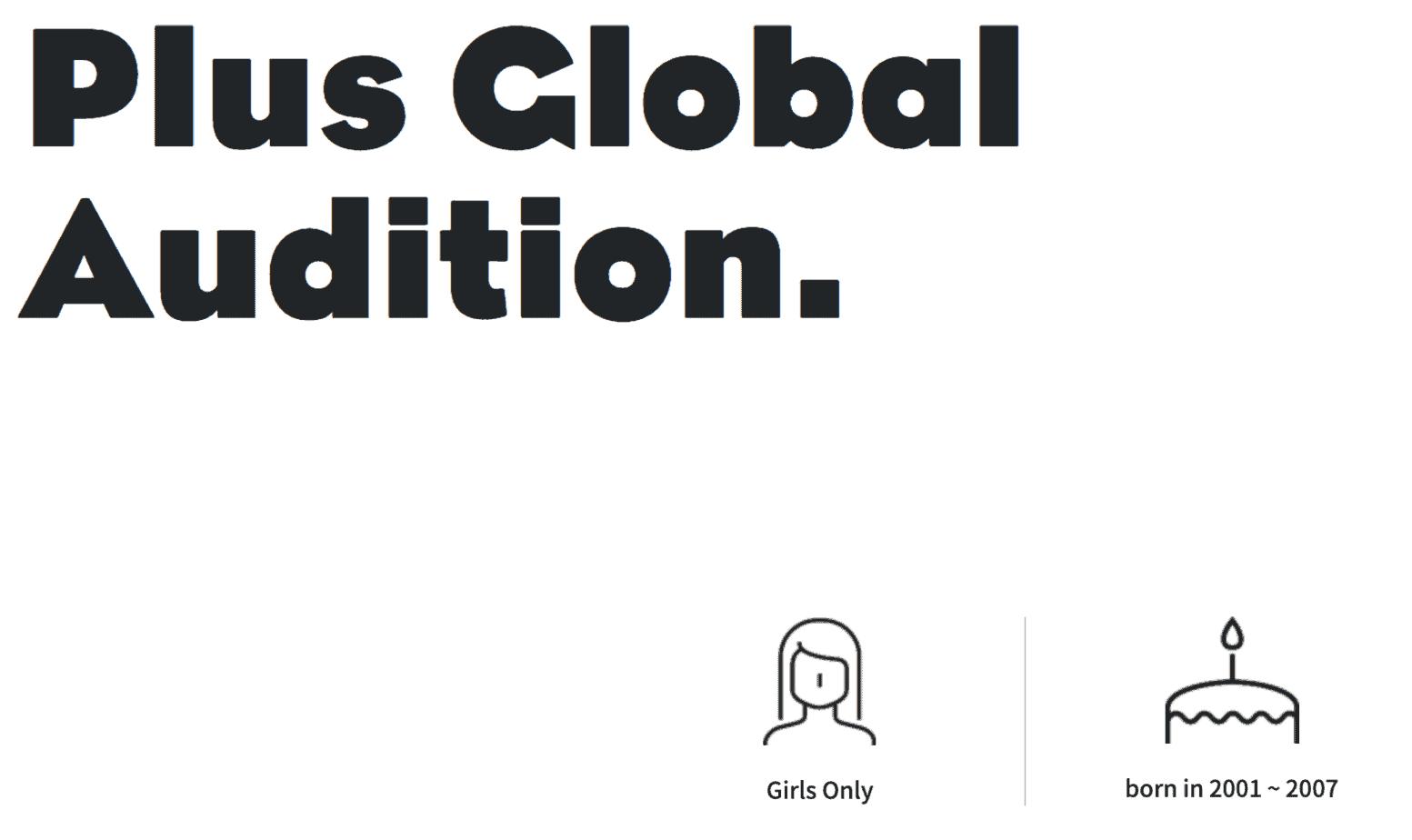 big hit audition global