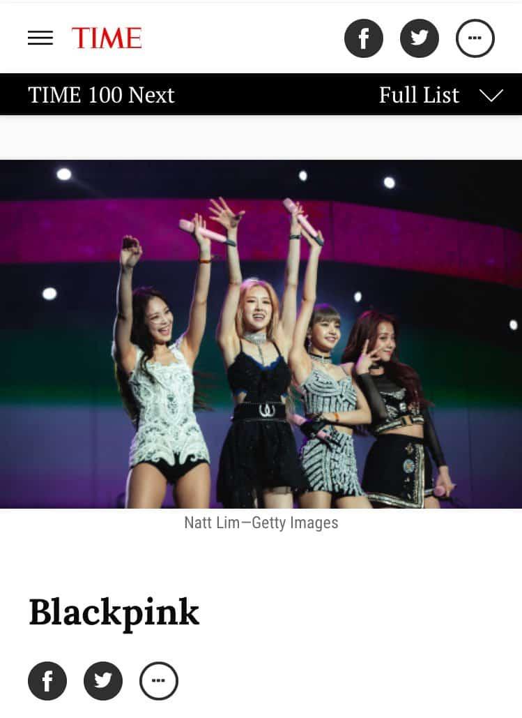 next 100 blackpink