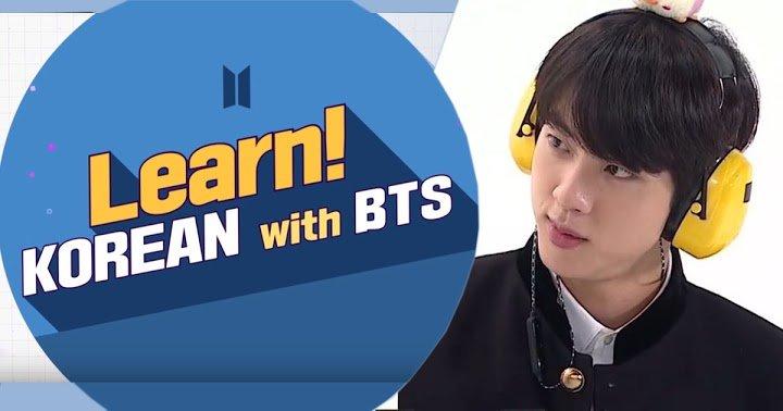 Learn! KOREAN With BTS france