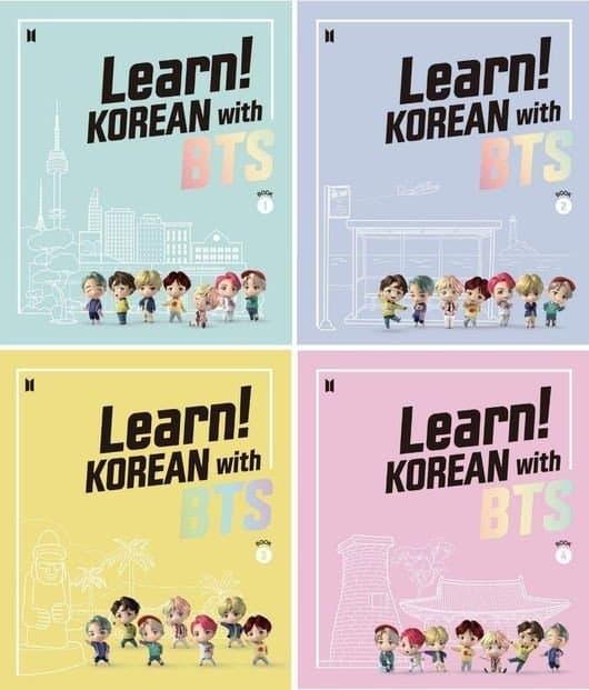learn korean with bts livre