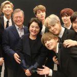 bts president de la coree