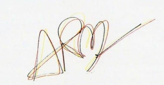 bts v taehyung autograph signature weverse