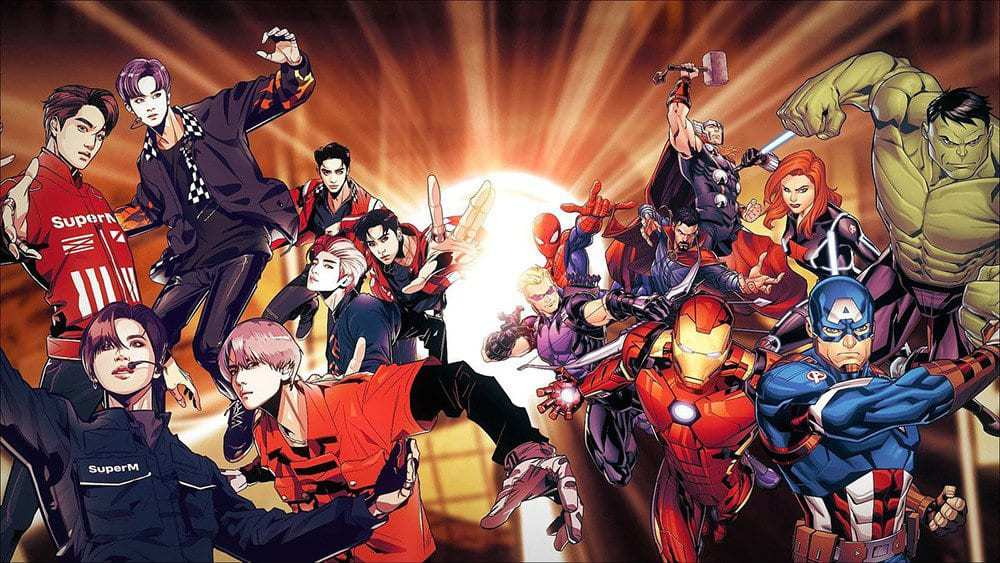 superm avengers