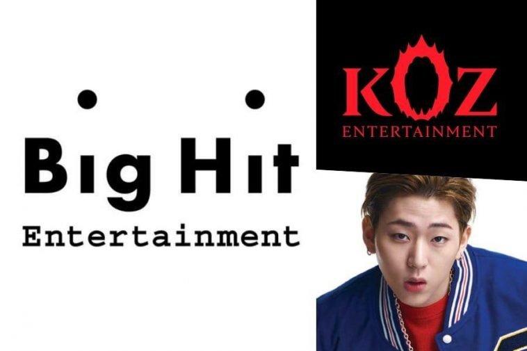 koz entertainment big hit zico bts