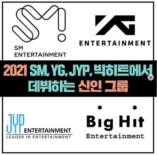 2021 debuts kpop