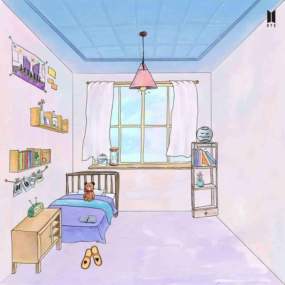 chambre army curated BTS RM SUGa