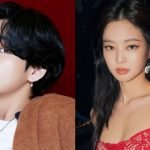 v bts jennie relation
