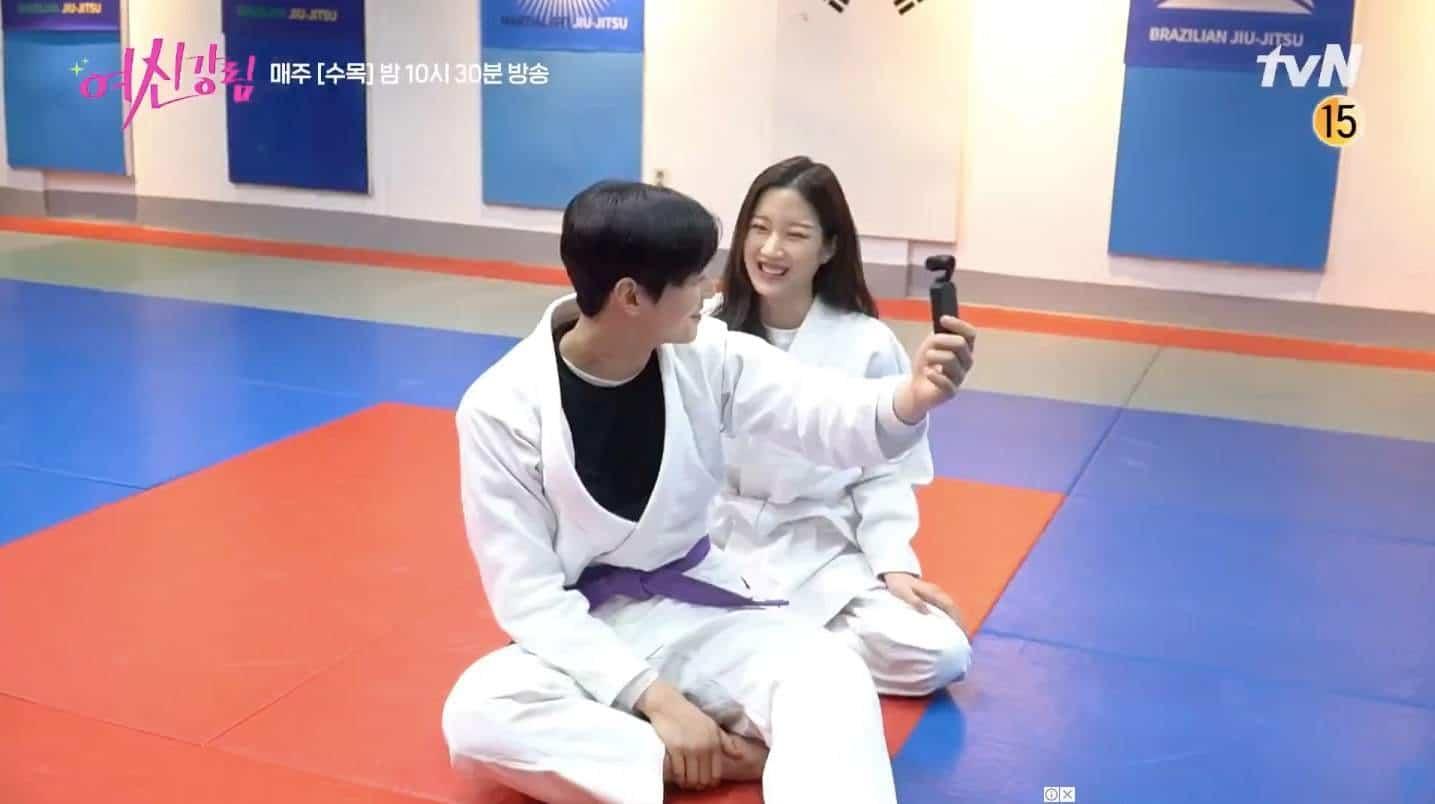 Lee Su Ho moon ga young jiu jitsu