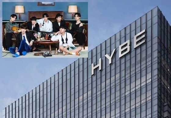 bts hybe salle de pratique reservation loyer big hit