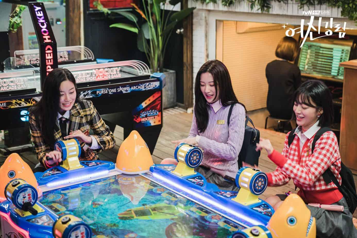 salle de divertissement arcade true beauty lieu de tournage drama