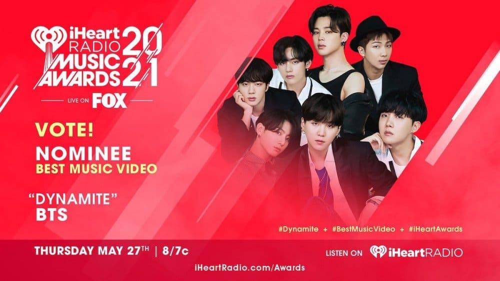 BTS, NCT et BLACKPINK nommés aux iHeartRadio Music Awards