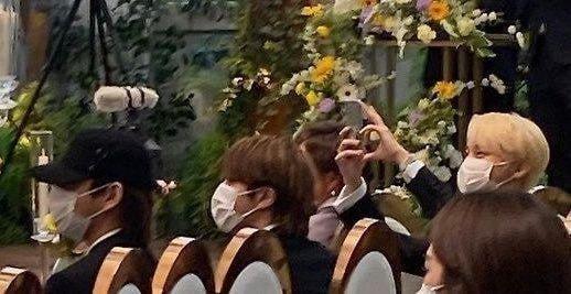 BTS mariage Ji Woo jhope soeur.