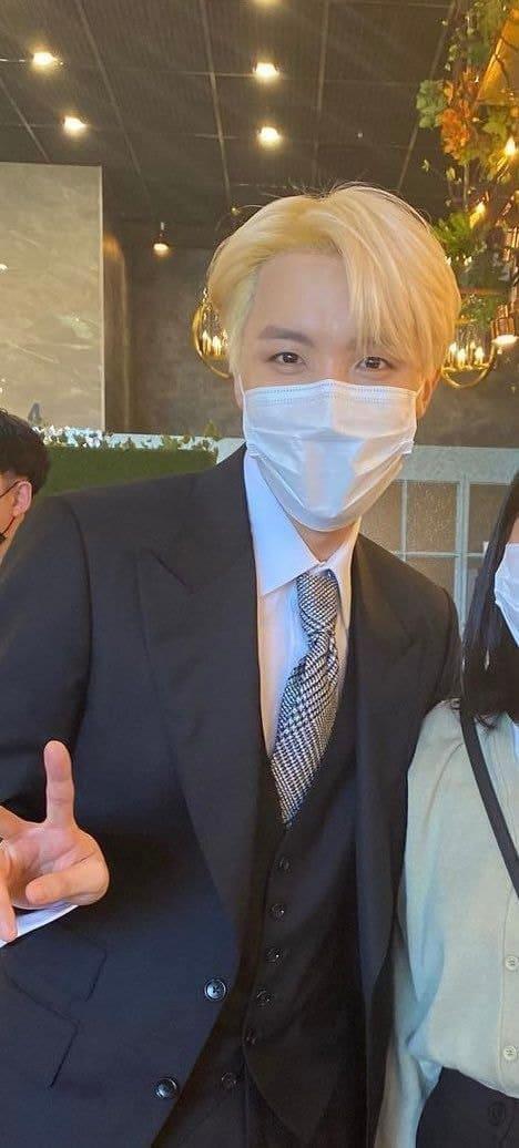 BTS mariage Ji Woo jhope soeur