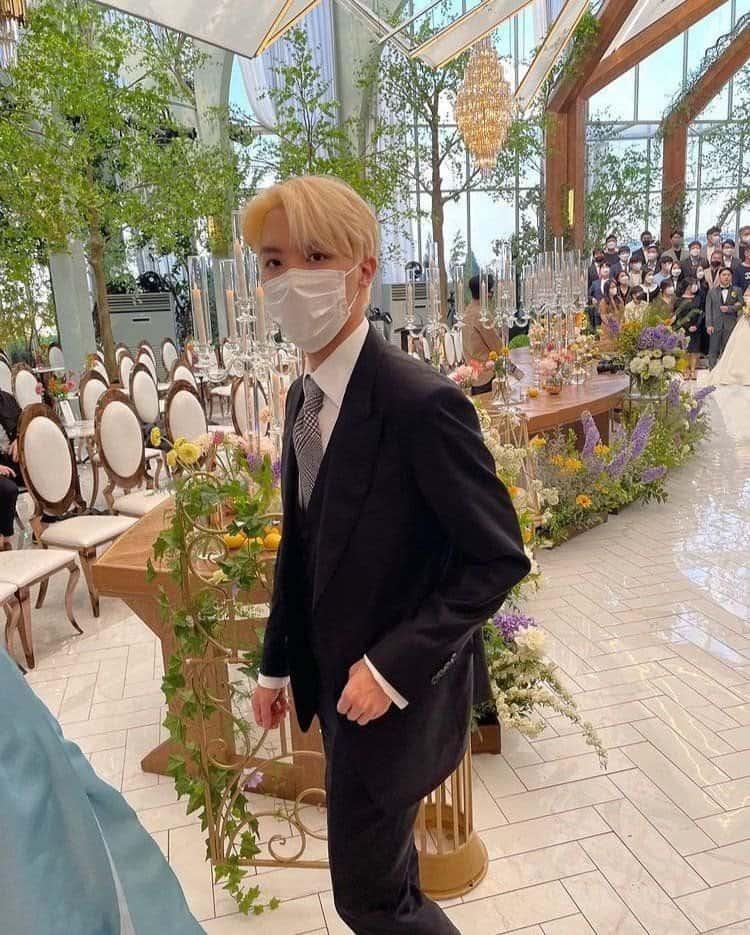 BTS mariage Ji Woo jhope. d
