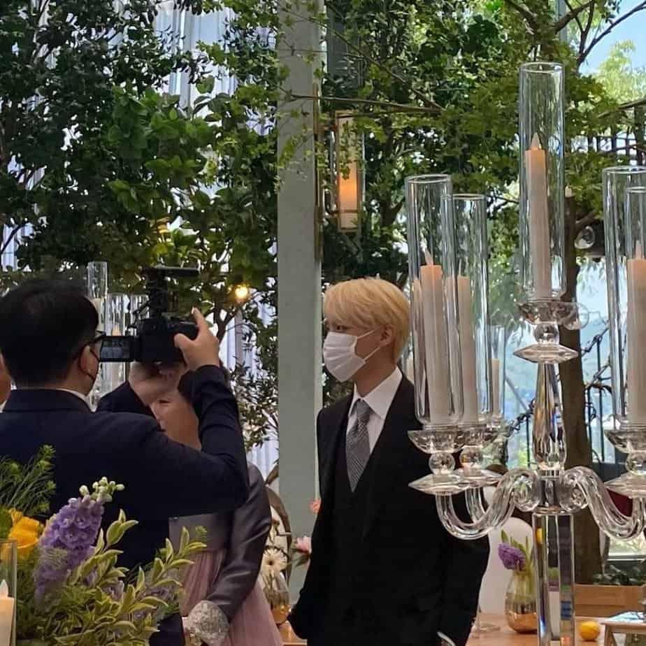 BTS mariage Ji Woo jhope