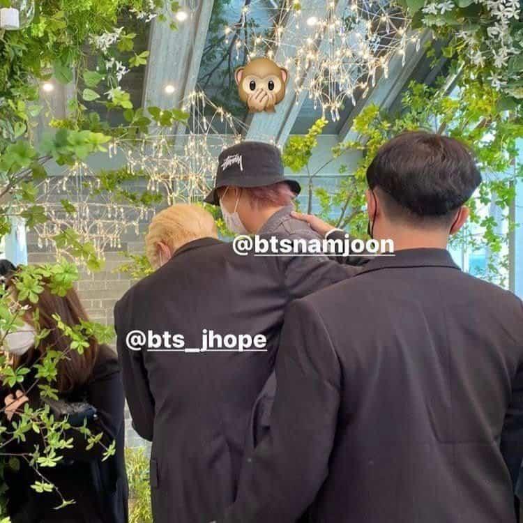 BTS mariage JiWoo jhope soeur