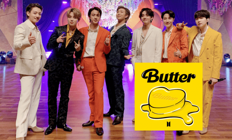 bts butter theories