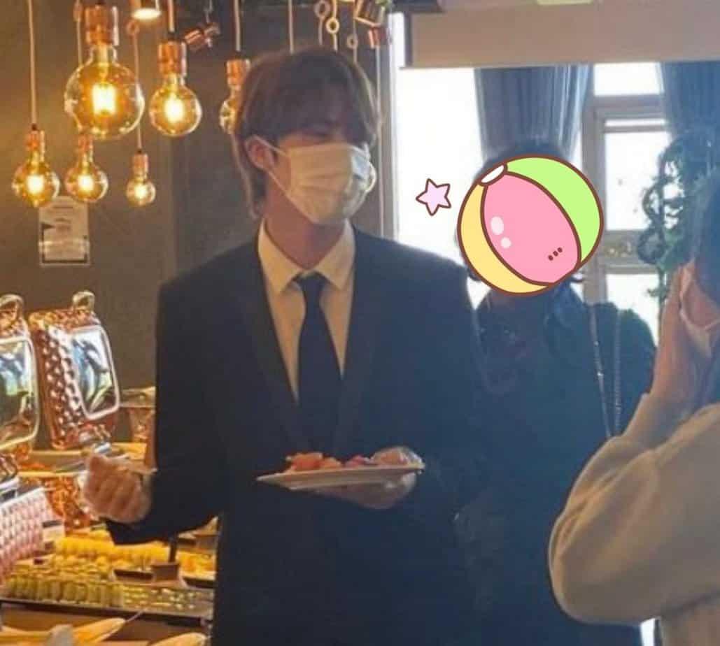 jin bts mariage