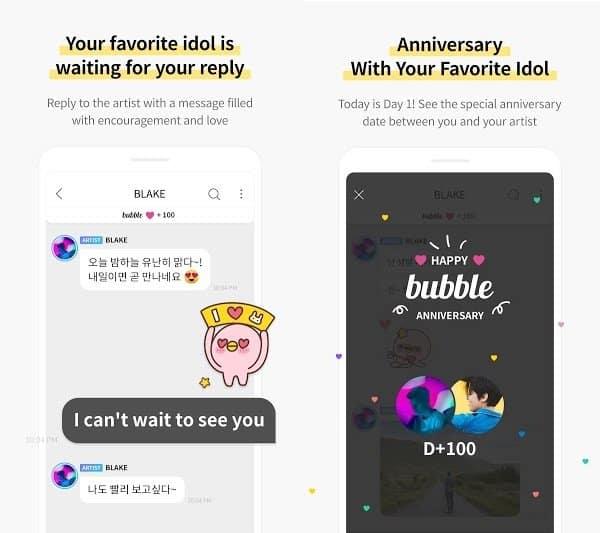 bubble for JYPnation